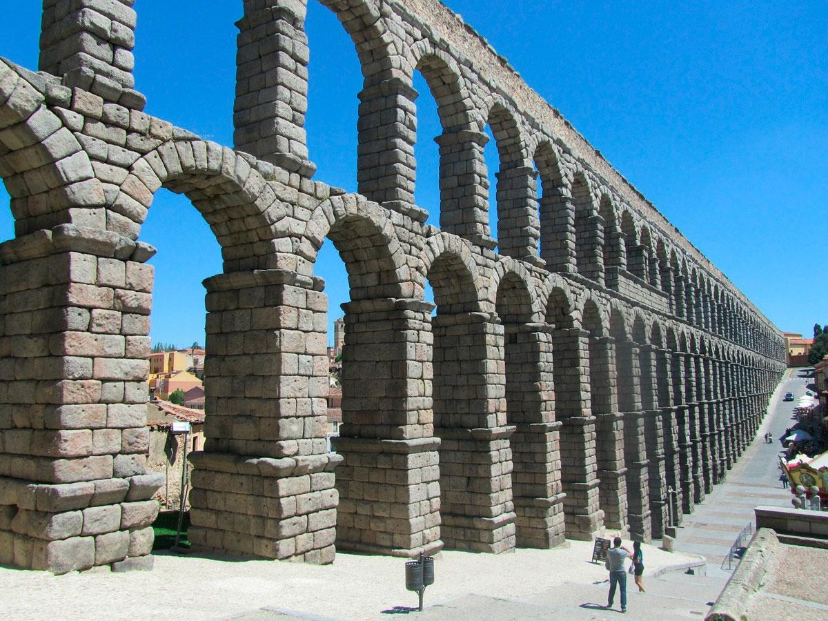 Acueducto de Segovia - 70 km